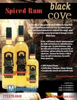 32629 - Crossover Rye Whiskey & Black Cove Spiced Rum USA